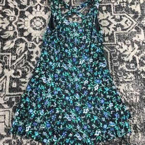 Vintage 1990s All that Jazz Floral pin up dress
